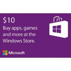 $10 Windows Store Gift Card [Online Delivery]